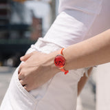 RumbaTime-Watches-Orchard Gem Watch - Coral