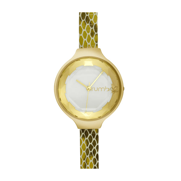 RumbaTime-Watches-Orchard Gem Exotic Watch - Gold Amazon