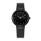 RumbaTime-Watches-Santa Monica Gem Black Leather