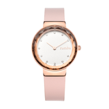 RumbaTime-Watches-Santa Monica Gem Blush Leather