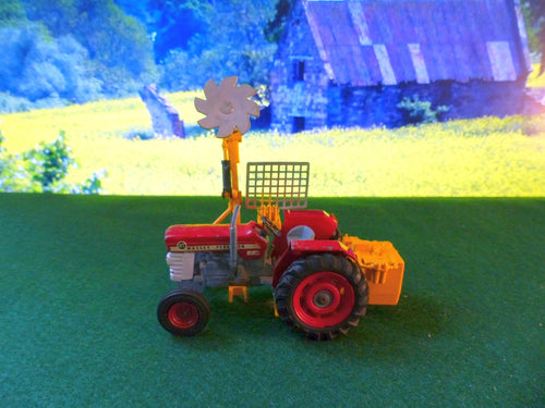 73 Massey Ferguson 185 tractor with Saw Attachment