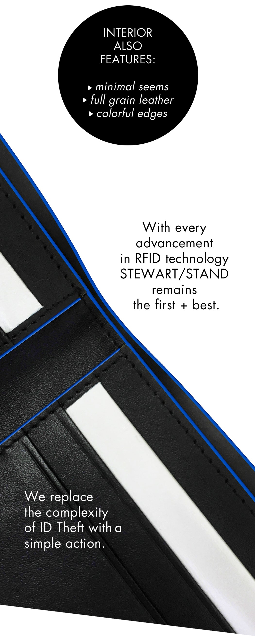 aperture wallet, rfid blocking, stewartstand, chevron8