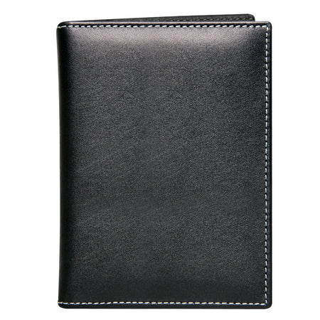 Driving Wallet Herringbone, Silver