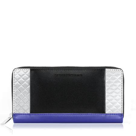 Mini Zipper Wallet, Periwinkle
