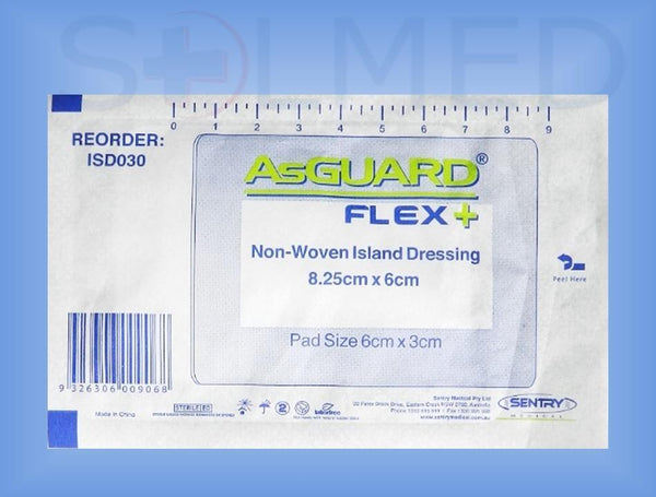 Island Dressing, Wound Dressing, Adhesive Dressing, Buy Island Dressings, Asguard Flex, Adhesive Dressing With Pad, Non Adherent Pad, Asguard Flex Dressing