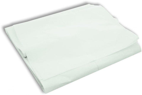 STRETCHER SHEETS WHITE DISPOSABLE x 10