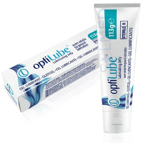 OPTILUBE GEL MEDICAL LUBRICATING JELLY 113G TUBE X 1
