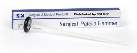 PATELLA SURGICAL HAMMER 30CM REFLEX LONG HANDLE X 1