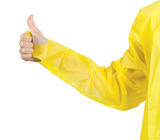 THUMBS UP GOWN IMPERVIOUS YELLOW PE SIZE REGULAR X 1