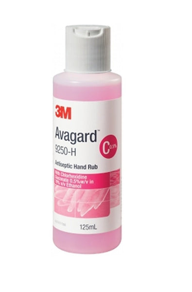 AVAGARD ANTISEPTIC HAND RUB 125ML BOTTLE