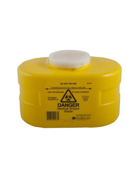 SHARPS CONTAINER 3.0L SNAP TOP LID