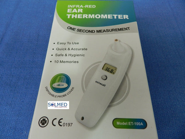THERMOMETER TYMPANIC EAR INFRA-RED  X 1