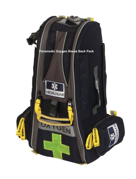 PARAMEDIC EMS PRO OXYGEN AIRWAY BACK PACK SUPER VALUE PREMIUM ITEM (BAG ONLY)