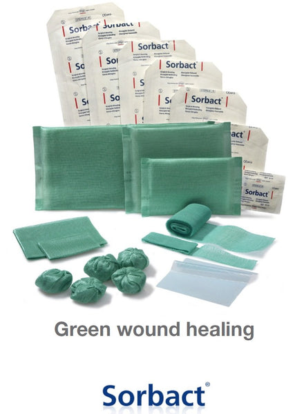 SORBACT WOUND COMPRESS 4CM X 6CM