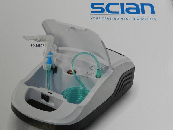SCIAN QUIET HIGH PERFORMANCE COMPRESSOR HOME CLINIC NEBULIZER TGA LISTED X 1