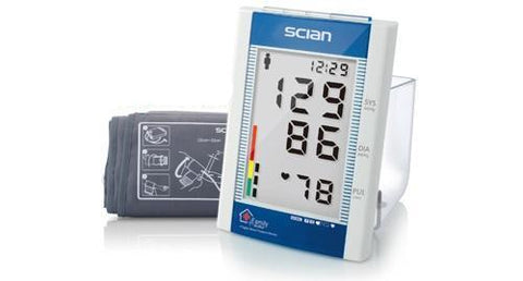 SCIAN BLOOD PRESSURE AUTOMATIC UPPER ARM DIGITAL MONITOR WITH FUZZY LOGIC & USB CONNECTION TO COMPUTER X 1