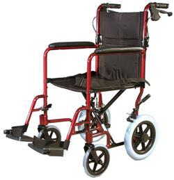 SHOPPER 12 TRANSIT WHEELCHAIR ULTRA LIGHTWEIGHT SUPER VALUE