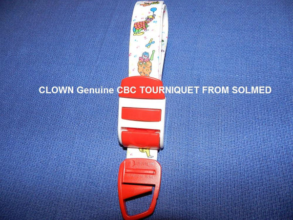 TOURNIQUET REUSABLE CLASSIC CLOWN DESIGN X 1