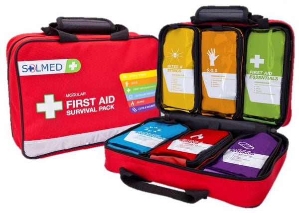 FIRST AID MODULAR SURVIVAL KIT 303 PIECES