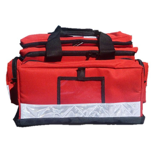 TRAUMA EMS EMERGENCY FIRST AID BAG PREMIUM MULTI FUNCTION COMPARTMENTS X 1