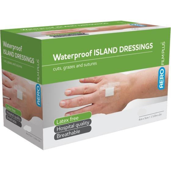 AEROFILM™ PLUS 7 DAY WATERPROOF DRESSING 4CM x 5CM WITH SUPASORB™ NON STICK PAD X 1