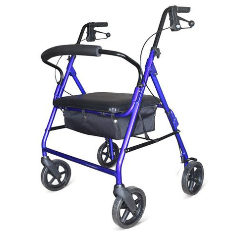 DAYS HEAVY DUTY ROLLATOR BLUE - 200KGS