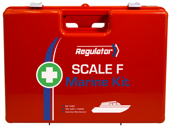 REGULATOR SCALE F MARINE FIRST AID KIT