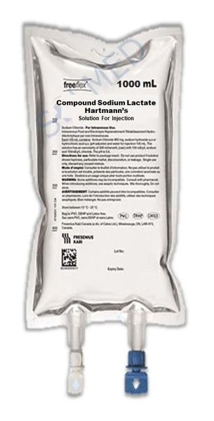 COMPOUND SODIUM LACTATE (HARTMANNS) 1000ml FREEFLEX® BAG x 1