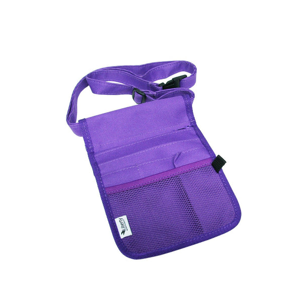 NURSES POUCH VIOLET WITH STRAP & PENLIGHT TORCH