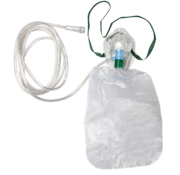 NON-REBREATHER OXYGEN MASK CHILD WITH NON KINK STAR LUMEN 210CM TUBING