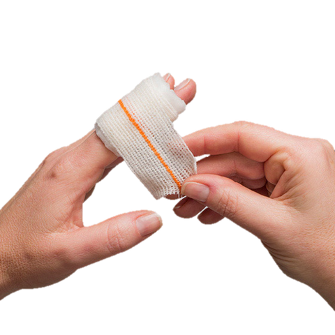 Finger Dressing, Compressed Bandage, Finger Bandage, Wound Care, Finger Care, Bandage for Fingers