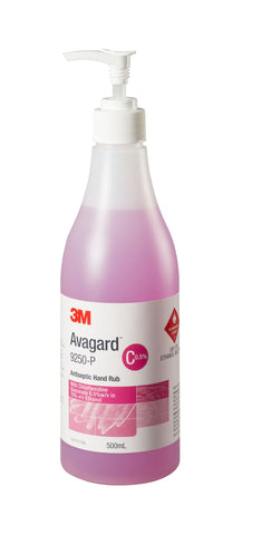 AVAGARD ANTISEPTIC HAND RUB 500ML PUMP BOTTLE