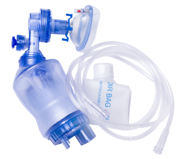 BVM Disposable Resuscitator Infant with Pop Off Safety Valve X 1