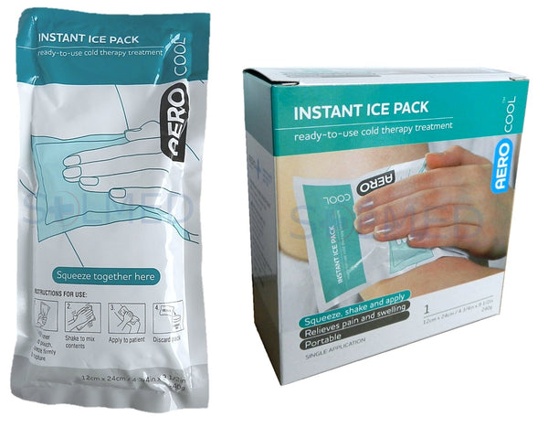 LARGE INSTANT ICE PACK 12CM X 23.5CM X 1
