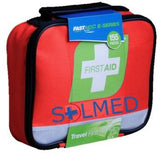 FIRST AID KIT 155 PIECE TRAVEL RED