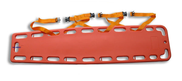HARDENED PLASTIC SPINE BOARD EMERGENCY STRETCHER X 1