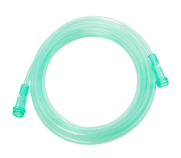 OXYGEN TUBING WITH NON KINK STAR LUMEN 210CM LENGHTH