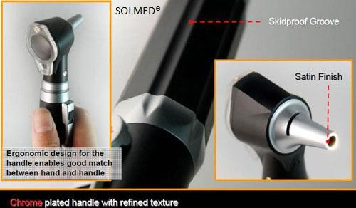 OTOSCOPE DELUXE CLINICAL SERIES FIBER OPTIC ILLUMINATION WITH LED TECHNOLOGY X 1