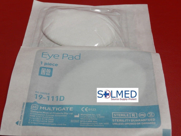 EYE PADS STERILE MULTIGATE INDIVIDUALLY WRAPPED X 10