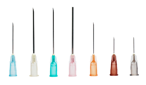HYPODERMIC NEEDLES X10 - FOR TRAINING