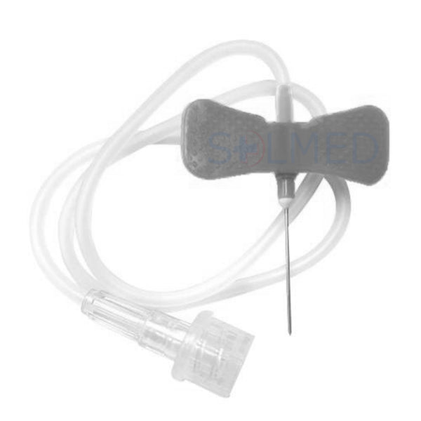 "NIPRO BUTTERFLY SCALP VEIN SETS WINGED INFUSION SETS 27G X 19MM 3/4"" NEEDLE X 30CM TUBING X 50"
