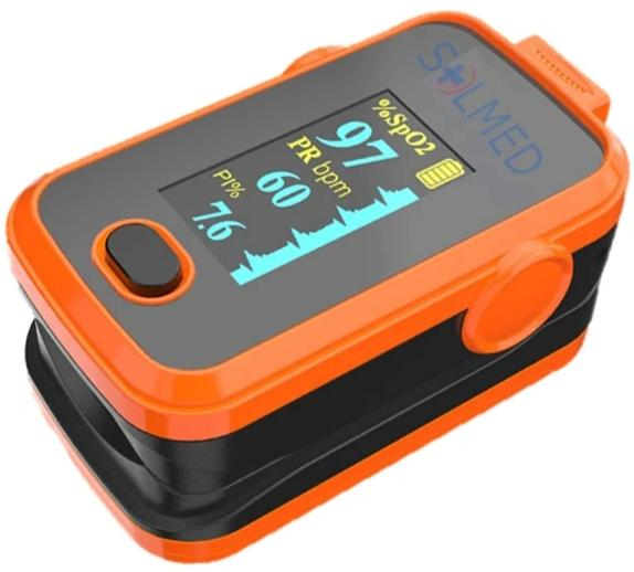 PULSE OXIMETER OLED DUAL COLOUR SPO2, PULSE RATE, PULSE BAR, PLETHYSMOGRAM,PERFUSION INDEX & ALARM X 1