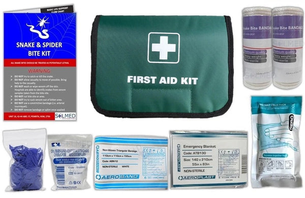 Snake Bite Kit, Snake and Spider Bite Kit, First Aid Kit, Snake Bite First Aid Kit, Snake Kit, Bite Kit, Premium Snake Bite Kit, Snake Injury Kit, Buy Snake Bite Kit, Buy Snake and SPider Bite Kit, Snake Bite Bandages
