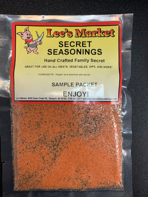 Lee's Market Secret Seasonings