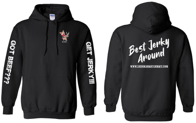 Best Jerky Around Hoodie Black