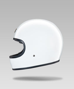 BOLT HELMET (White) FREE GLOIN BAG