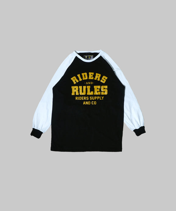 RR Black White Race Long Sleeve