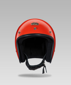 OPEN FACE HELMET (Orange)