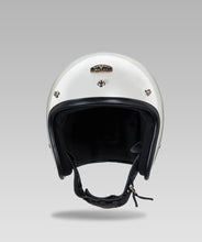 Load image into Gallery viewer, OPEN FACE HELMET (Silver) FREE VISOR