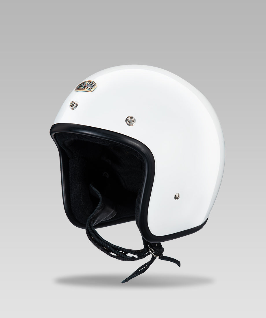 OPEN FACE HELMET (White)